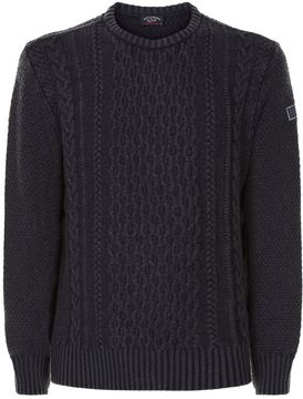 Paul & Shark Knitted Roundneck Sweater