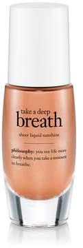 philosophy Take A Deep Breath Sheer Liquid Sunshine Bronzer
