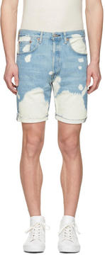 Levi's Levis Blue Denim 501 CT Shorts