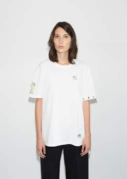 Aalto Eyelets T-Shirt White Size: FR 36