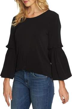 Cynthia Steffe CeCe by Bell Sleeve Knit Top