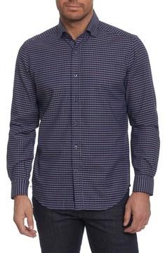 Robert Graham Men's Landen Tailored Fit Print Sport Shirt