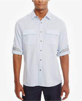 Kenneth Cole New York Men's Two-Pocket Cotton Shirt