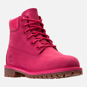Timberland Girls' Grade School 6 Inch Classic Boots