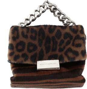 STELLA MCCARTNEY Small Cat Print Bag