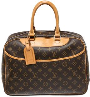 Louis Vuitton Deauville satchel - BROWN - STYLE