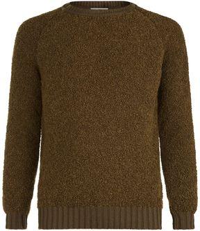 John Smedley Chunky Alpaca Sweater