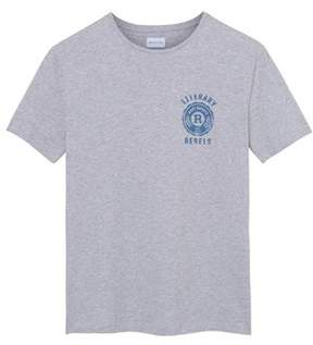 Gant Men's Grey Cotton T-shirt.
