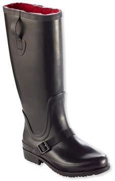 L.L. Bean Women's Insulated Wellie Rain Boots, Tall