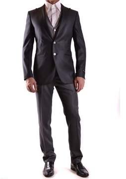 Corneliani Men's Grey Wool Suit.
