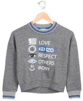 Kenzo Boys' Printed Pullover Sweatshirt w/ Tags