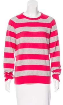 Equipment Striped Cashmere Sweater