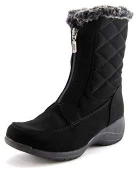 Khombu Angela Round Toe Synthetic Winter Boot.