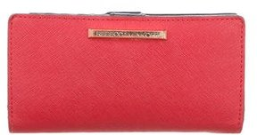 Rebecca Minkoff Leather Logo Wallet - RED - STYLE