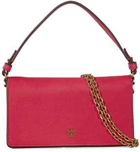 Tory Burch Cleo Calf Hair Fold-Over Clutch - Gooseberry - ONE COLOR - STYLE