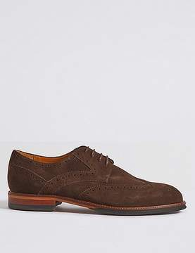 Marks and Spencer Suede Brogue Shoes