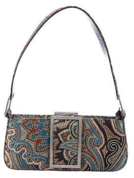 Jimmy Choo Paisley Satin Evening Bag