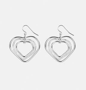 Avenue Graduated Heart Earrings