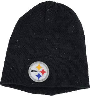 New Era Women's Pittsburgh Steelers Glistener Knit Hat