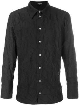 Ann Demeulemeester creased long sleeve shirt