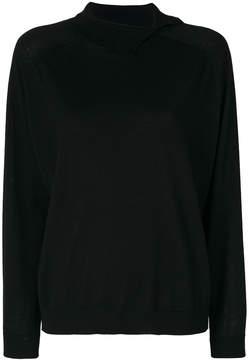 Cividini spread collar sweater