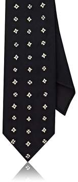 Drakes Drake's Men's Embroidered Silk Necktie