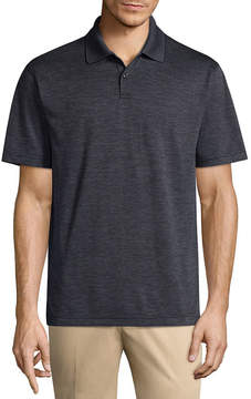 Haggar Short Sleeve Knit Polo Shirt-Big and Tall