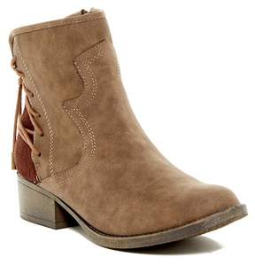 Steve Madden Colly Lace Western Boot (Little Kid & Big Kid)