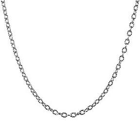 American West Sterling 24 Curb Link Chain Necklace