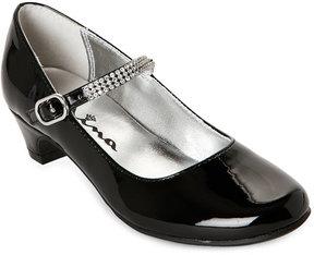 Nina Kids Girls) Black Nylda Mary Jane Dress Shoes
