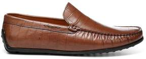 Donald J Pliner IGGY, Croco Print Leather Driving Loafer
