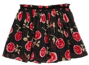 Kate Spade Toddler Girl's Rose Print Chiffon Skirt