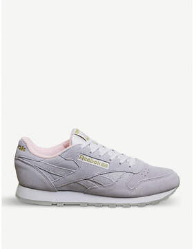 Reebok Classic suede trainers