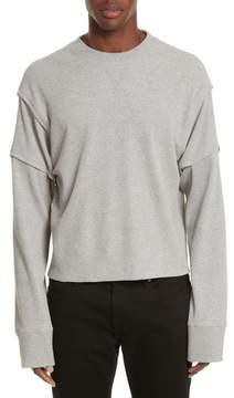 Helmut Lang Military Panel Sleeve Thermal Shirt