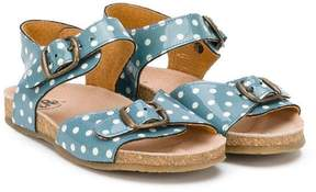 Pépé polka-dot sandals