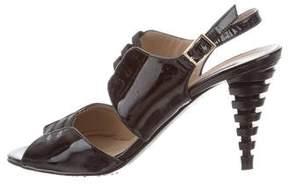 Bruno Magli Patent Leather Sandals