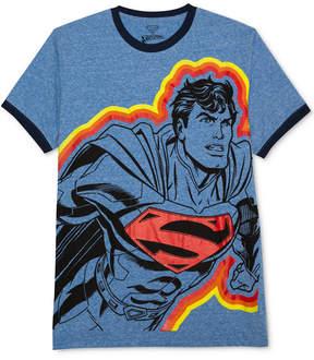 Hybrid Men's Superman-Print T-Shirt