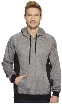 Roper 1466 Cationic Grey Bonded Fleece Hoodie Men's Sweatshirt