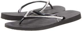 Havaianas Slim Crystal Mesh II Flip Flops Women's Sandals