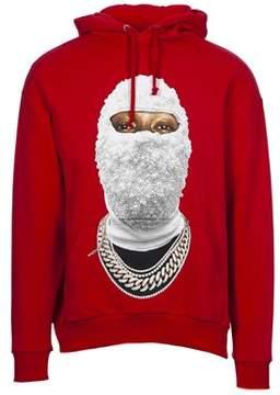 Ih Nom Uh Nit Men's Red Cotton Sweatshirt.