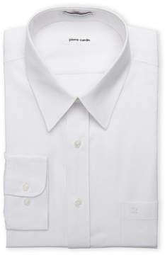 Pierre Cardin White Regular Fit Open Pocket Dress Shirt
