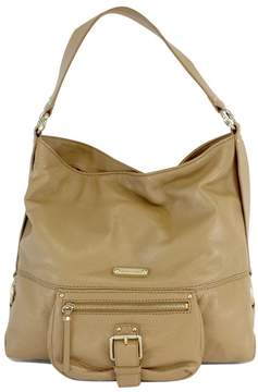 Michael Kors Camel Grainy Leather Hobo Bag - CAMEL - STYLE