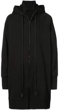 Julius long zipped jacket