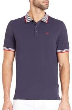 AG Jeans Short Sleeve Pique Polo
