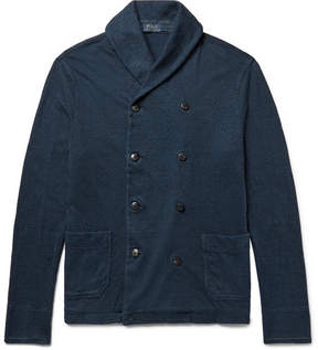 Polo Ralph Lauren Shawl-Collar Double-Breasted Cotton Cardigan