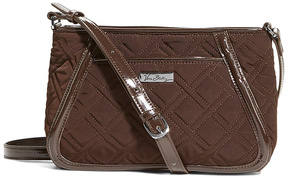 Vera Bradley Espresso Trimmed Trapeze Crossbody Bag - ESPRESSO - STYLE