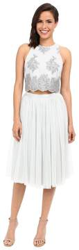 Donna Morgan Beatrix Lace Bodice w/ Skirt Women's Dress