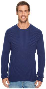 Kenneth Cole Sportswear Rib Crew Sweater Men's Sweater