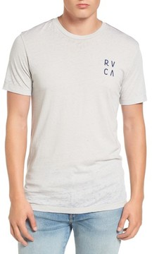 RVCA Men's Opposing Moons Graphic Burnout T-Shirt
