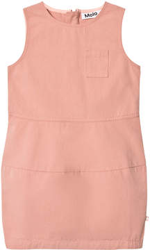 Molo Pink Sand Short Sleeve Dress